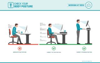 ergonomic workstation tips